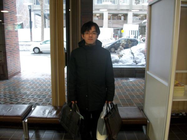 北海道札幌市の道庁での撮影